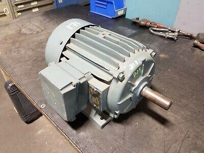 Elektrim 2 Hp Electric Ac Motor 230460 Vac 184t Frame 3 Phase 1165 Rpm