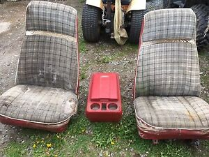 Blazer seats and console, 78 or 79