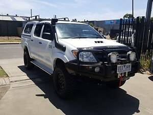 2007 Toyota Hilux Duel Cab 4X4 TURBO DIESEL LOW KMS ACCESSORIES Williamstown North Hobsons Bay Area Preview