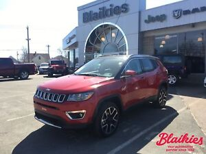 2017 Jeep Compass LIMITED | 4X4 | SUNROOF | NAV |