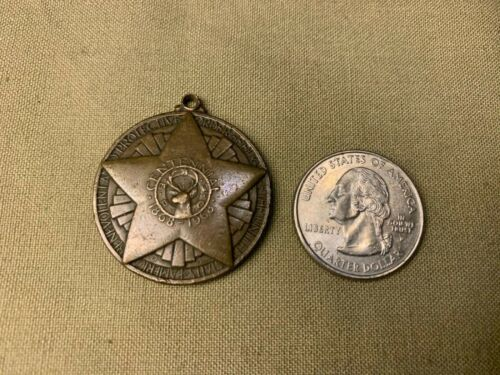 Vintage Elks Club 1868-1968 Bronze Centennial Medal/Fob