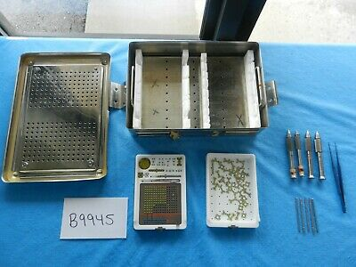 Stryker Surgical Orthopedic 1.7mm Leibinger Mini Wurzburg Set W Case