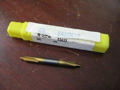 Bassett Solid Carbide 2 Center Drill Counter Sink 60 Deg. Usa