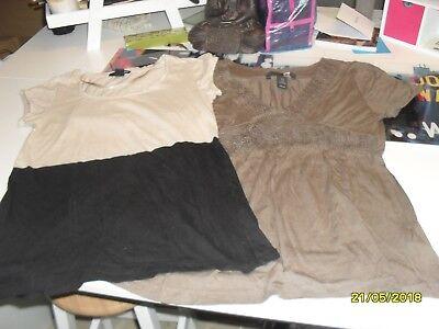 lot de 2 t-shirt H&M T SX-S
