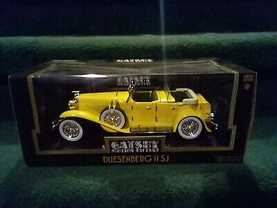 1:18 Greenlight Collectibles Hollywood Diecast Model Car Yellow Great Gatsby