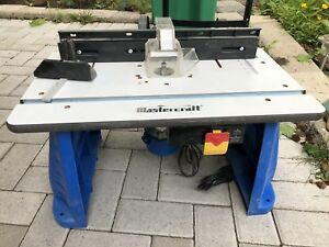 Mastercraft Router and table