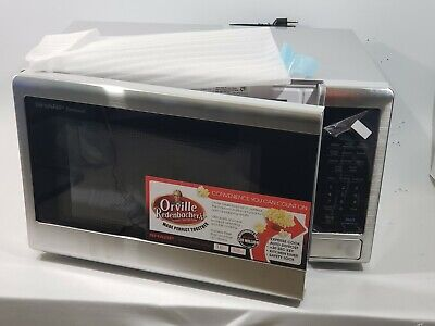 SHARP SMC1132CS Countertop Microwave 1.1 cu. ft.Capacity with 1000 Cooking Watt