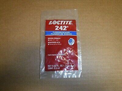 Loctite 242 Threadlocker 24205 Blue Medium... Sample Package .02 Fl. Oz.