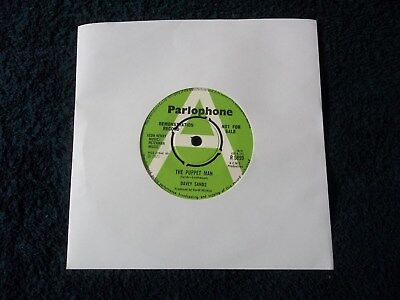 """Rare Promo, DAVEY SANDS - THE PUPPET MAN / OH WHAT A NAUGHTY MAN, 7"""" Vinyl 1971"""