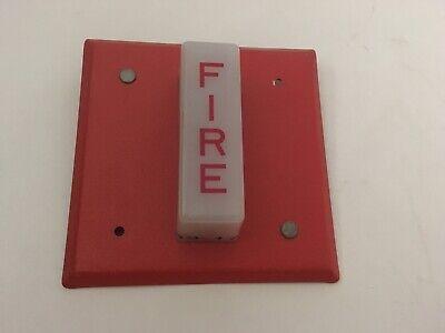 Vintage Wheelock Wst-24 Fire Alarm Remote Strobe