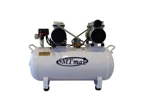 2HP, 12 Gallon, Oil Free & Noiseless Dental Air Compressor (110v)