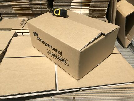Pack of 25 new cardboard shipping boxes. 40x31x17