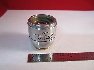 Microscope Objective Reichert Fluor 5x Polycon Epi Infinity Optics Bin11-dt-g