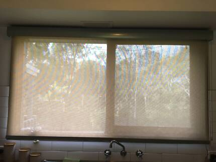 Stylish kitchen roller blind with pelmet | Curtains & Blinds ...