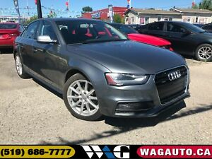 2016 Audi A4 2.0T Progressiv+ | NAV | LEATHER | ROOF