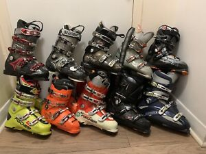 Paires de bottes de skis 70$ chaque / ski boots