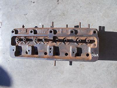 Case Vac Tractor Original Engine Motor 4 Cylinder Gas Head