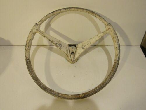 Vintage Quicksilver Metal Boat Steering Wheel Rare 1950