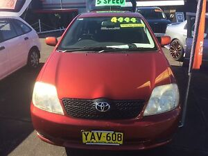 2001 Toyota Corolla Hatchback Cardiff Lake Macquarie Area Preview