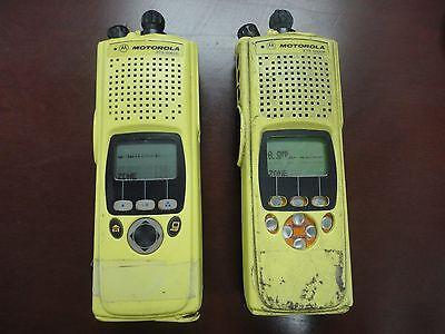 Lot Of 2 Motorola Xts5000r M2 7800 P25 Adp Fm Radio H18ucf9pw6an Sold As Is