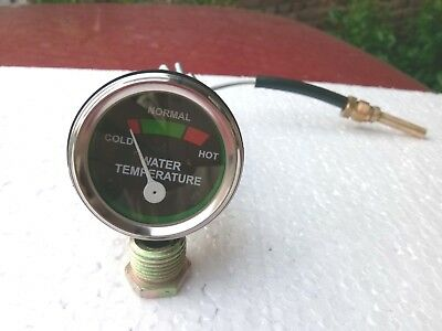 Massey Harris Ferguson Tractor Temp Gauge Fits Pony Pacer Colt Mustang Many