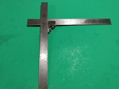 Starrett 289-a Attachment For Combination Square 2 Rules Works Great