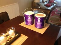 2 new cans Behr Marquee Sandalwood Tan