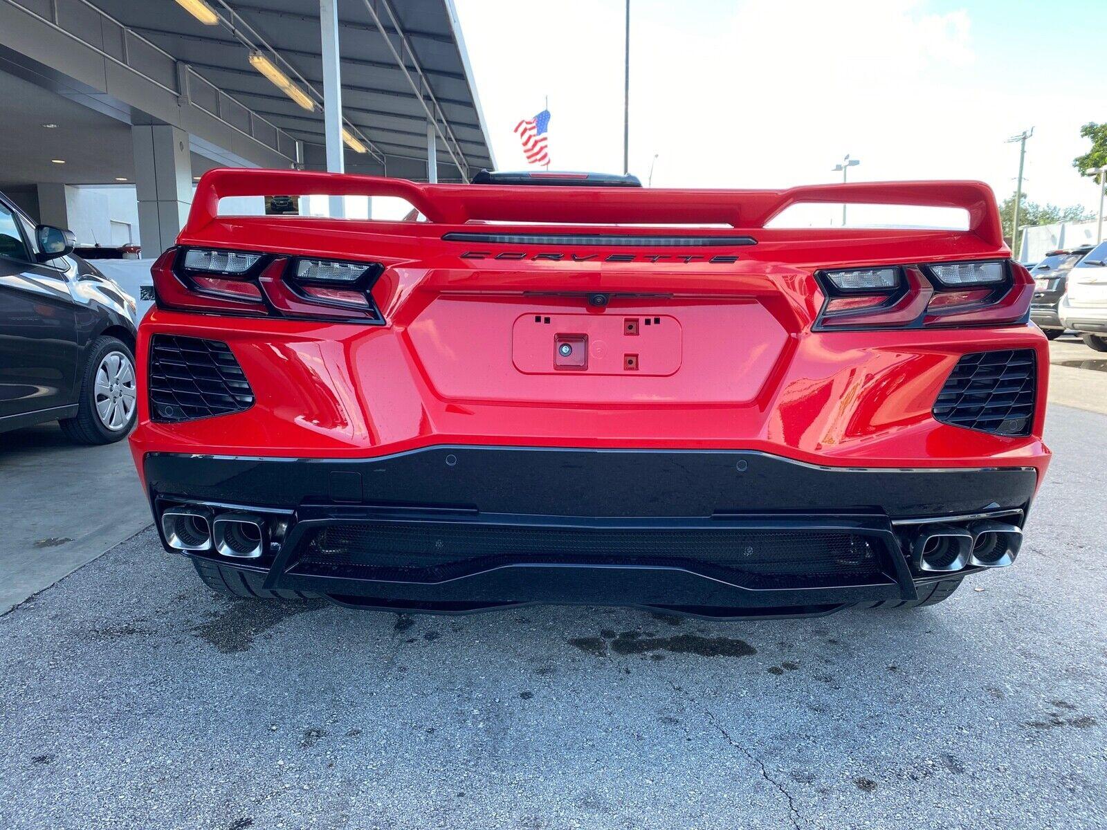 2020 Red Chevrolet Corvette   | C7 Corvette Photo 2