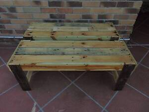 2 rustic pallet bench seats Coombabah Gold Coast North Preview