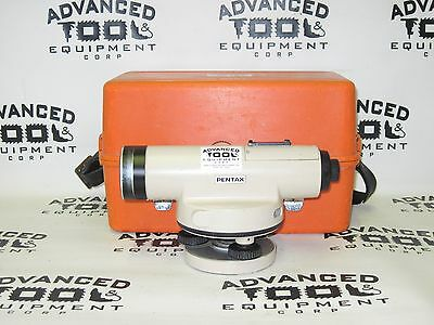 Pentax Pal-5c Autolevel Automatic Auto Level Transit With Carrying Case