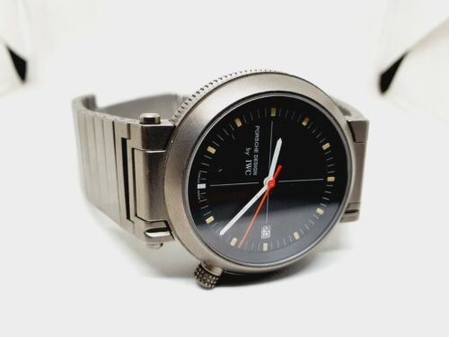 IWC Porsche Design Kompassuhr Compass 3511 Titanium Automatic - watch picture 1