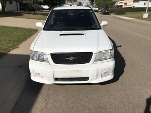 2001 Forester STI (inspected)