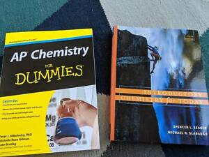 Chemistry Books Moonah Glenorchy Area Preview