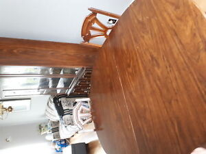 Hutch and table and for chair