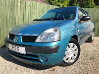 """2004/54 RENAULT CLIO 1.4 16V EXPRESSION AUTOMATIC """"ONLY 30K"""""""