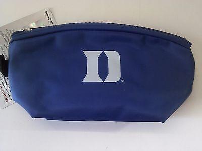 Duke Blue Devils Make-up Case Bag NIP NCAA 8 1/2