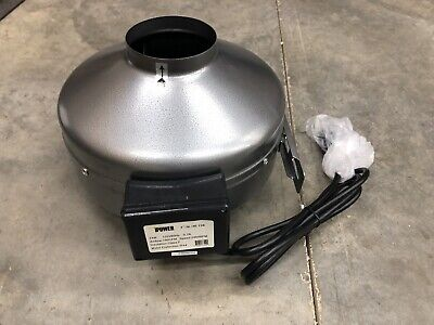 Ipower 4 Inch 190 Cfm Inline Duct Ventilation Fan
