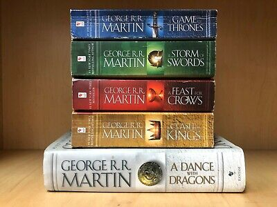 A Game of Thrones  Set by George R. R. Martin's A Song of Ice and Fire Complete