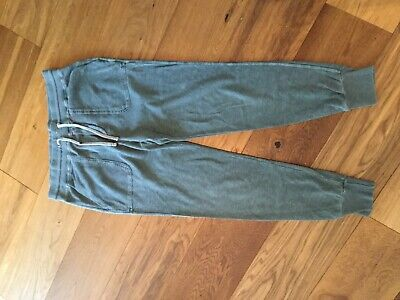 James Perse Ladies Joggers, Size 2, Green