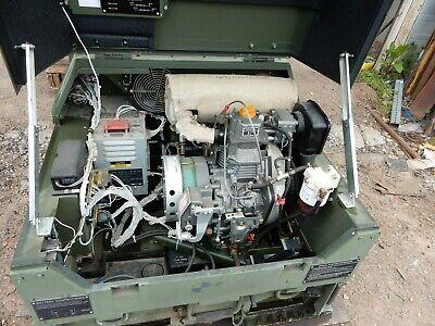 U.s. G.i. 3kw Diesel Generator Mep-831a Olive Drab