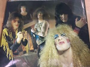 TWISTED SISTER  1983 original Vintage Poster