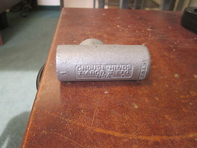 Crouse-hinds Explosion Proof Conduit Seal 1 Abcd Ii Efg Used