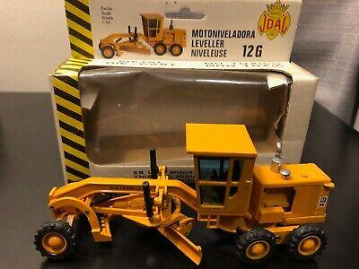 JOAL #217 CAT Caterpillar 12G Road Grader - 1:50 - Die Cast Model Boxed!