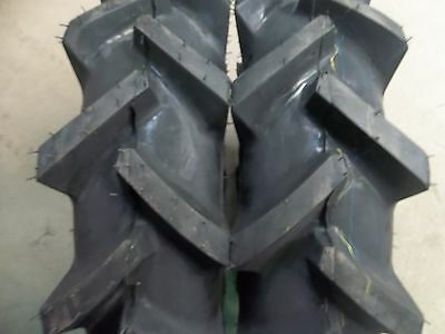 Two 6x14 6-14 Bar Lug R 1 4 Ply Tube Type Tractor Demolition Tires