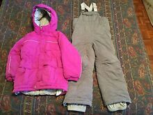 Girls snow suit size 8 Campbell North Canberra Preview