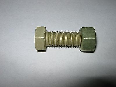 Aluminum Hex Bolt 12 - 13 Unc X 1-12 2024-t4 Alumilite 205 W Nut