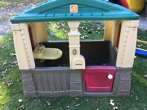 Maisonnette pour enfants parc de jeux