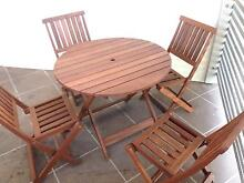 Brand New!!  5 Piece Timber Outdoor Setting Brendale Pine Rivers Area Preview
