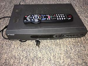 1 Rogers satellite receiver  and two Bell satellite receivers