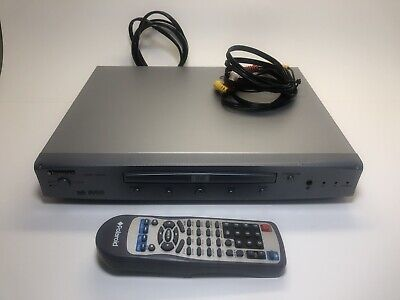 Polaroid DVD Player DHX1-1000A WITH REMOTE & Composite